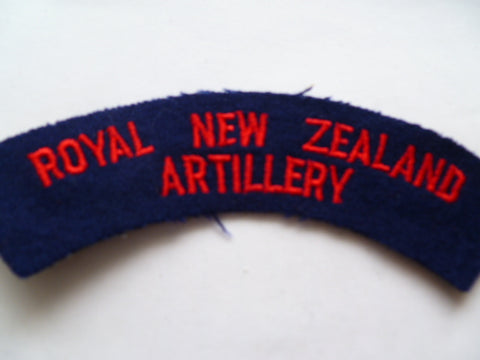 NEW ZEALAND artillery rocker exc
