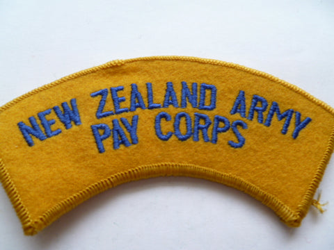 NEW ZEALAND pay corps rocker