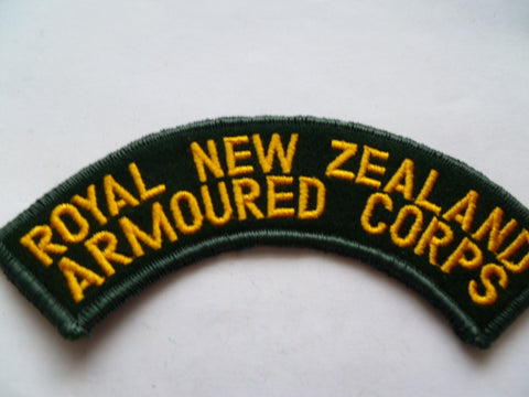 NEW ZEALAND armoured corp  rocker