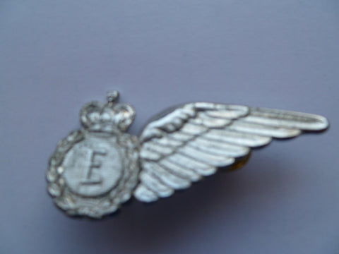 NEW ZEALAND RNZAF 1/2 wing brevet E....pn 3349