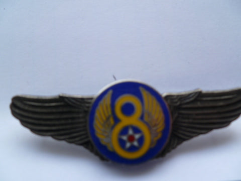 USA air force pilot wings 8th ..............pn 3354