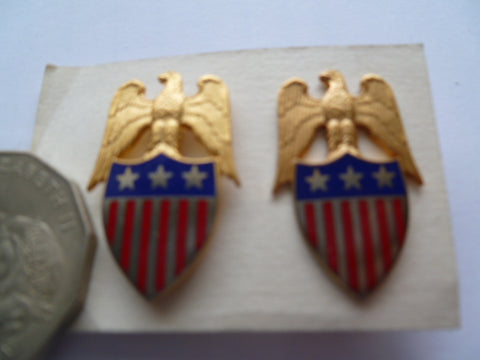 USA 3 st advocate general office pair collars............pn 3373
