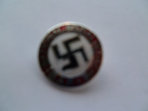 GERMAN WWII nsdap party badge m/m and #