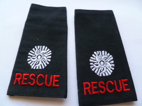 AUSTRALIA fire rescue eppaullettes new cond pair