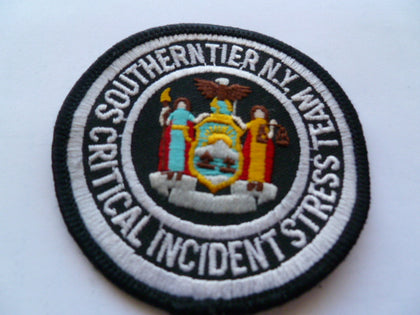 new york critical stress and response team patch