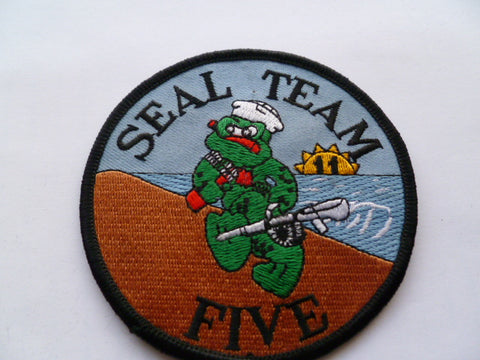 usa SEAL team five patch