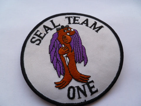usa SEAL team one patch