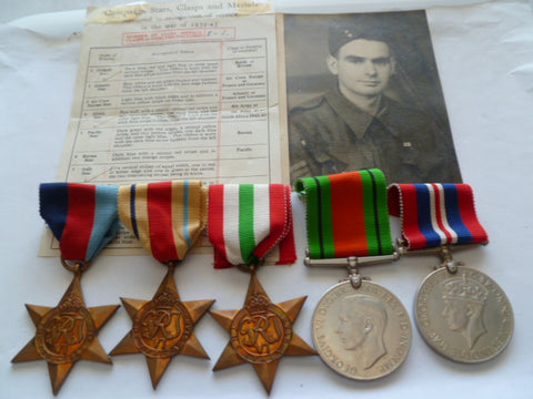 brit ww2 army group 5 j buttrick born 1916 died 1995