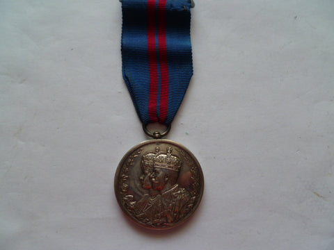 brit/indian 1911 dehli durbar medal u/n as issued