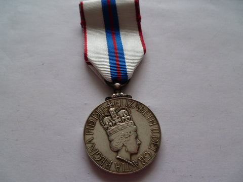 brit silver jubilee medal  mtd for wear unnamed as issued