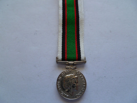 new zealand mini medal timor