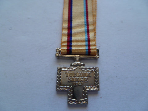 australia mini medal for tobruk well made