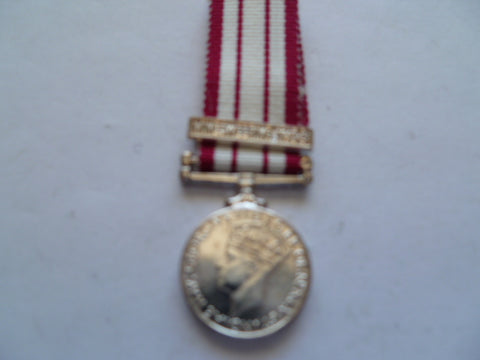 brit mini medal ngs bar minesweeping 45/51