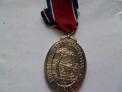 south africa john chard medal unnamed as issued