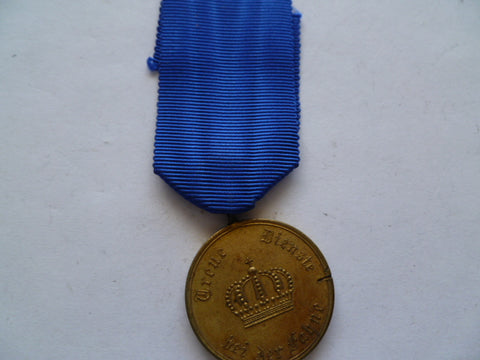 germany ww1 and pre 12 year l/s medal