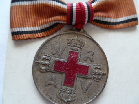 germany ww1 red cross nurse on bow