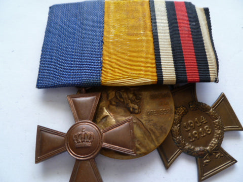 germany ww1 and pre 15 year l/s medal and jubilee ww1 honx