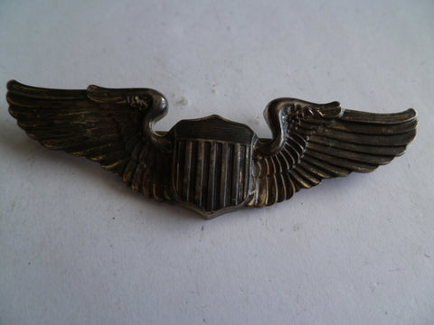 usa aac ww2 wings pilot m/m amcraft