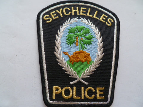 seychelles police older quality patch