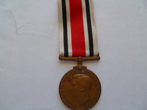 brit special const medal l/s george 6th