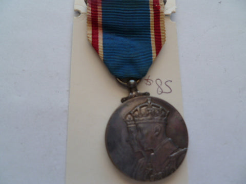 brit 1937 coronation medal
