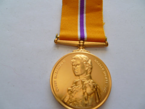 brit queens jubilee medal 2002 well made not the govt issue?