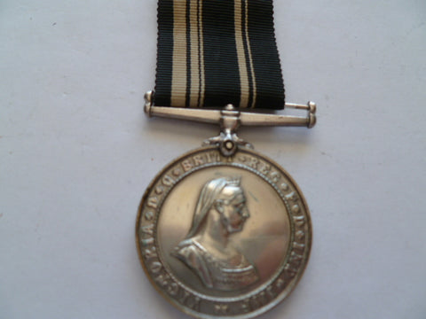 brit st john long service medal un named