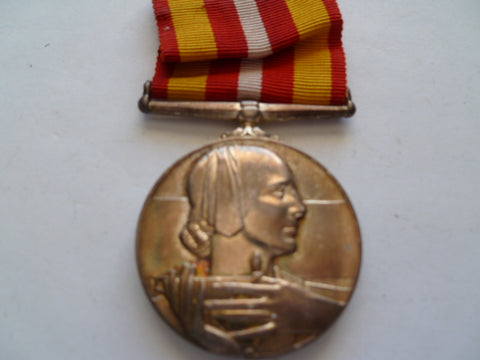 brit volunteer medical long service medal nam ed