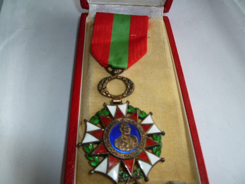 french territoy africa cased order of   S.M.I Bokassa