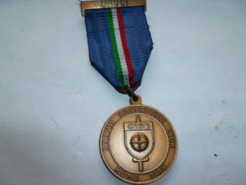 UN / NATO medal italy 1984 in rome congress bar unico