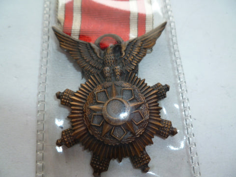 syria military merit 5th class medal
