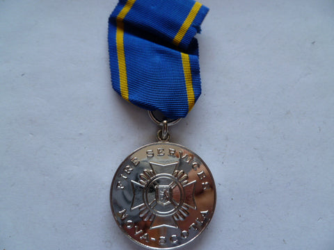 nova scotia fire service long service medal