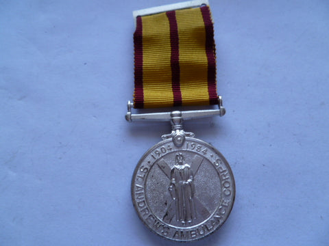 brit st andrews ambulance corp gold jubilee 1954