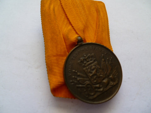 netherlands medal 12 year l/s ARMY mounted w/label