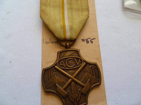 netherlands medal ACV cross /medal