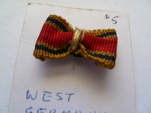 germany lapel ribbon order of merit