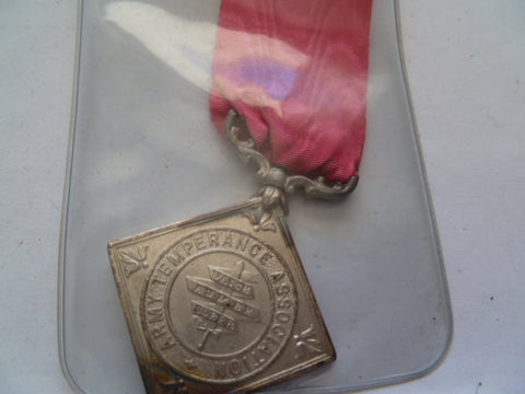 army temperance medal india