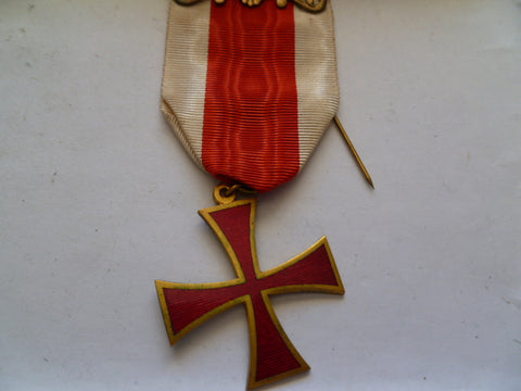 stjohn/red cross templar cross