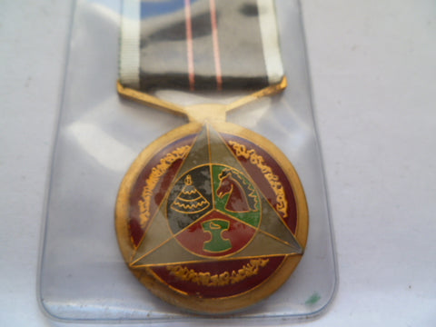 south africa ho thea area police medal
