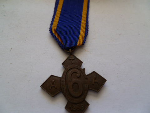 temperance medal 6 years