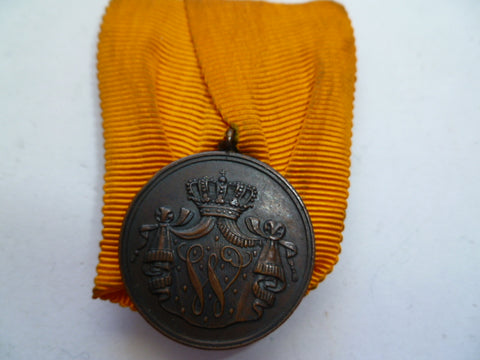 netherlands medal 12 year l/s NAVY mounted w/label