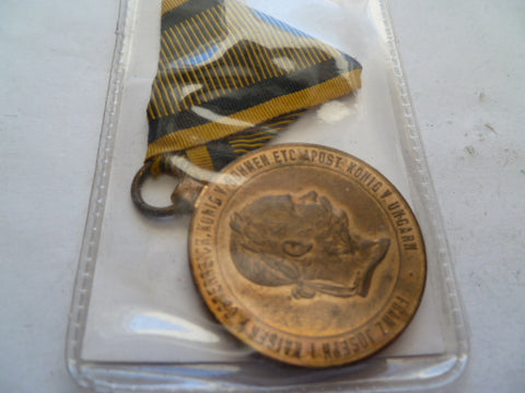 austria 1873 war medal gold