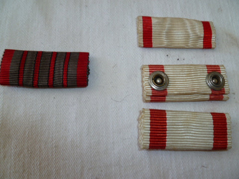 austro/hung/bulg used but nice ribbons x4