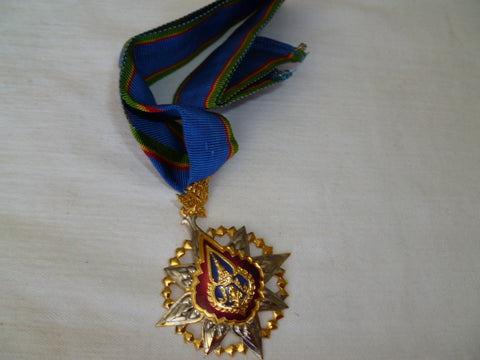thailand medal of the order of the crown gold NECK