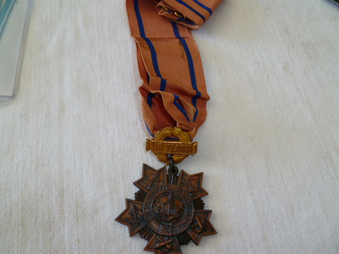 new york 15 year faithful service neck award full ribbon