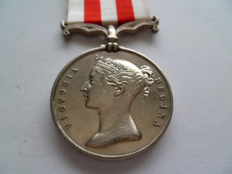 BRITISH INDIAN MUTINY MEDAL no bar corp arty