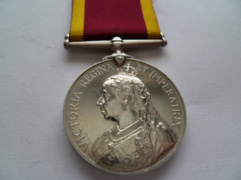 CHINA MEDAL 1900 no bar hms humber