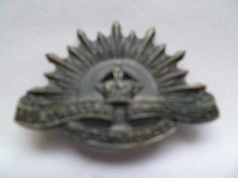 australia rising sun badge collar size but  genuine sweetheart