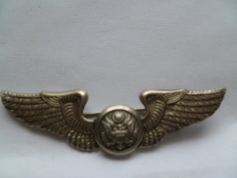 usa ww2 AAC full size wing aircrew marked ludlow uk stg sil