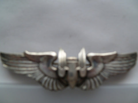 usa ww2 AAC full size wing AIRGUNNER m/m 1 0z silver